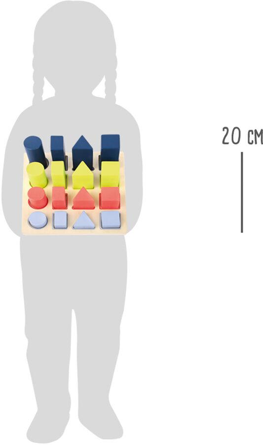 Figūru puzle, Legler, 11100