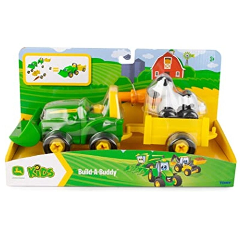 Traktors ar piekabi, John Deere, 47209