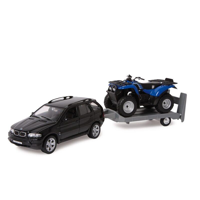 Mašīna BMW ar piekabi, Legler, 9327