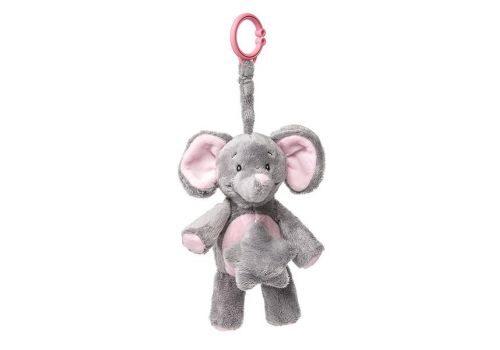 Muzikālā rotaļlieta Rozā zilonēns, MyTeddy, FEPM