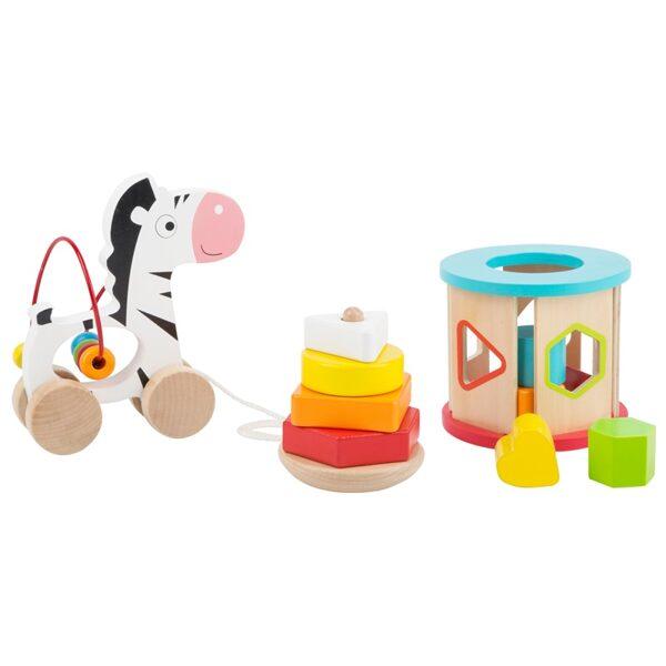 Attīstošu rotaļlietu komplekts, Legler, 11106