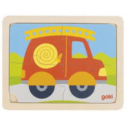 """Puzzle """"Auto"""", Goki, 57487"""