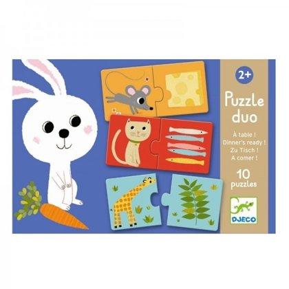 Divdaļīgā puzle - Pusdienas gatavas!, Djeco, DJ08166