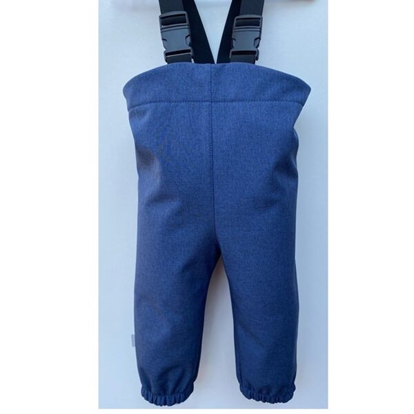 Softshell bikses ar regulējamām lencēm, zilas, 86-110, BB Collection