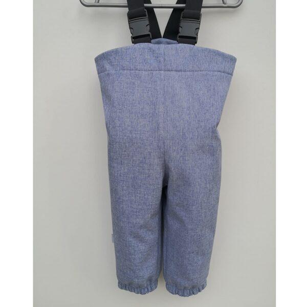 Softshell bikses ar regulējamām lencēm, gaiši zilas, 86-110, BB Collection