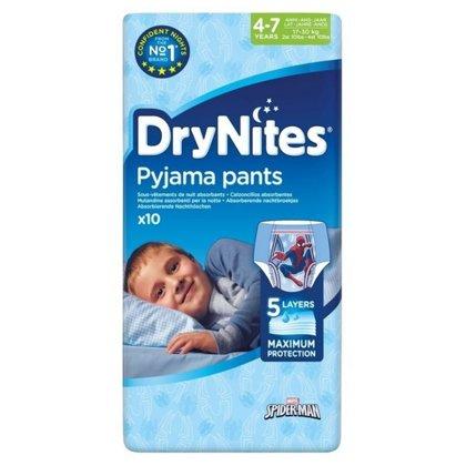 Autiņbiksītes Dry Nites, 4-7gadi, zēniem, Huggies