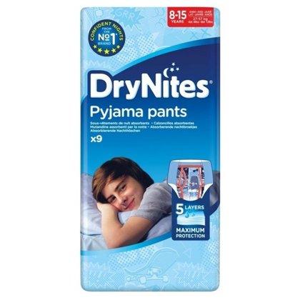 Autiņbiksītes Dry Nites, 8-15 gadi, zēniem, Huggies