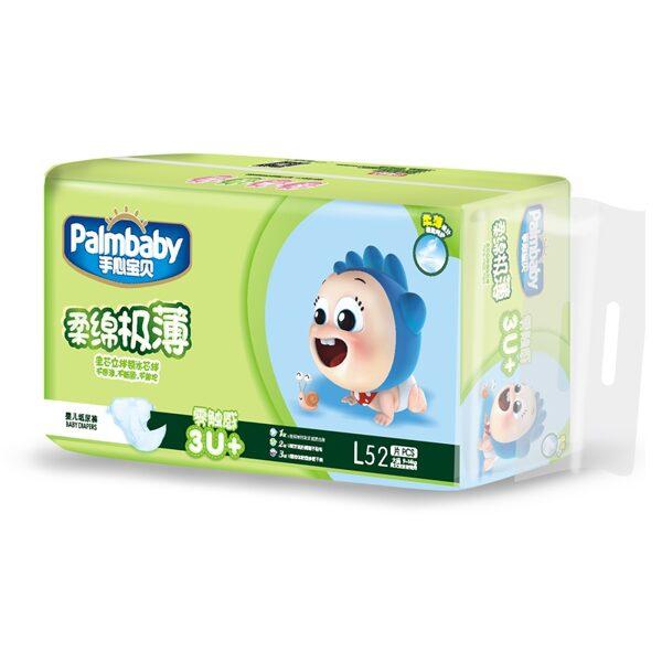 Autiņbiksītes Premium, L 9-14kg, 52 gab., Palmbaby