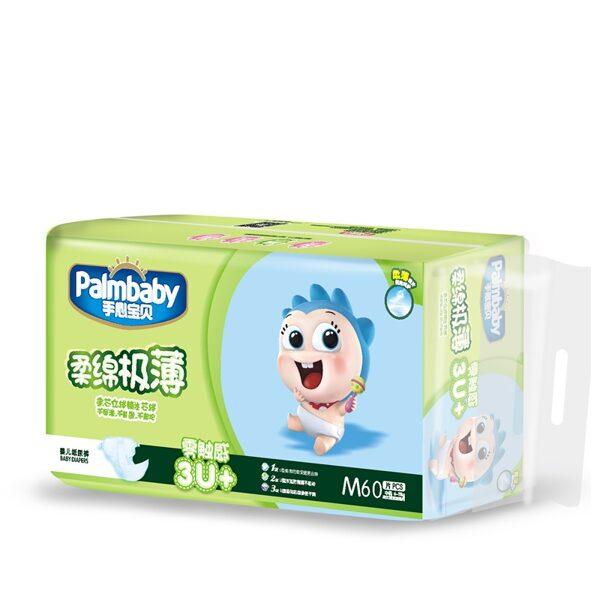 Autiņbiksītes Premium, M 6-11kg, 60 gab., Palmbaby
